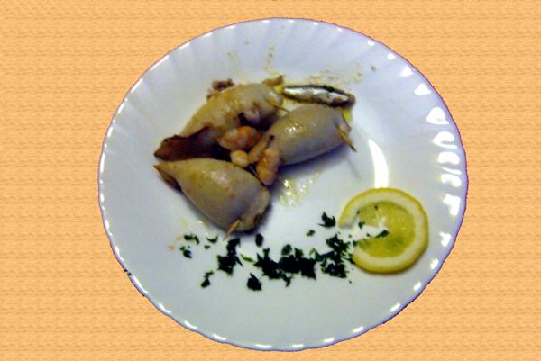 Stuffed Squid - Parcela