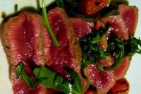 carne de res cortada