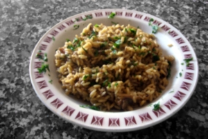 Risotto met champignons