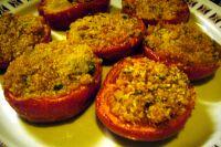 los tomates gratinados