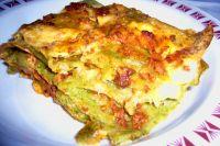 Grüne Lasagne Bolognese
