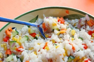 How to prepare salads Rice and Pasta