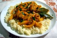 Cuttlefish stew with cous cous