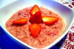Risotto With Strawberries