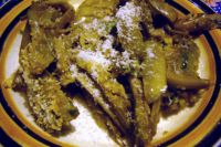 Artichokes with oil, parsley and garlic