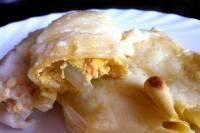 Cannelloni mit Büffel Ricotta-Käse und Shrimps