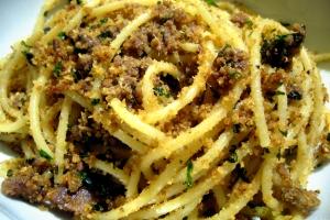 ansjovis spaghetti