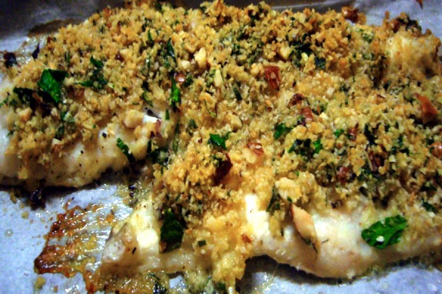 filetti di merluzzo gratinati al forno - Cucinare Filetto Di Merluzzo