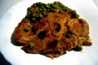 Osso buco aux petits pois