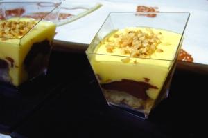 Becher Sahne und Nutella Marcarpone