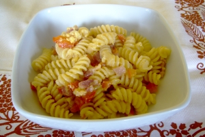 Fusilli Carbonare of Pepper