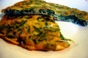 Frittata with stridoli