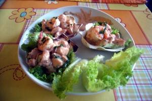cóctel de camarón