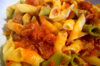 Garganelli with sausage